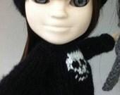 Makies black skull sweater