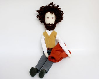 Handmade character doll - Elegant guy