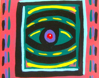 You See What You Want To See / original painting / everyone has their own point of view / 5054