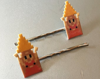 zelda with triforce bobbypins
