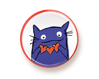 Cat <3 - button