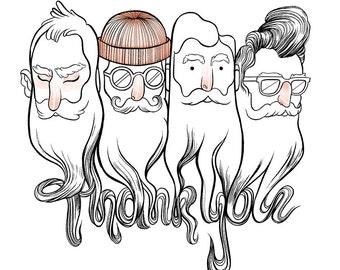 Thank You Card / Bros