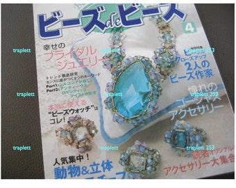 Japanese Craft Pattern Book Beading Jewelry
