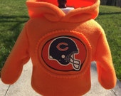 18 inch doll clothes fun CHICAGO BEARS THEME zippered hoodie for your favorite doll
