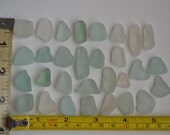 30 pieces of smooth beach sea glass sgl13