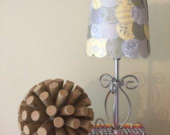 French Twist lamp