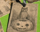 50% OFF - Eerie - Halloween Gift Tags