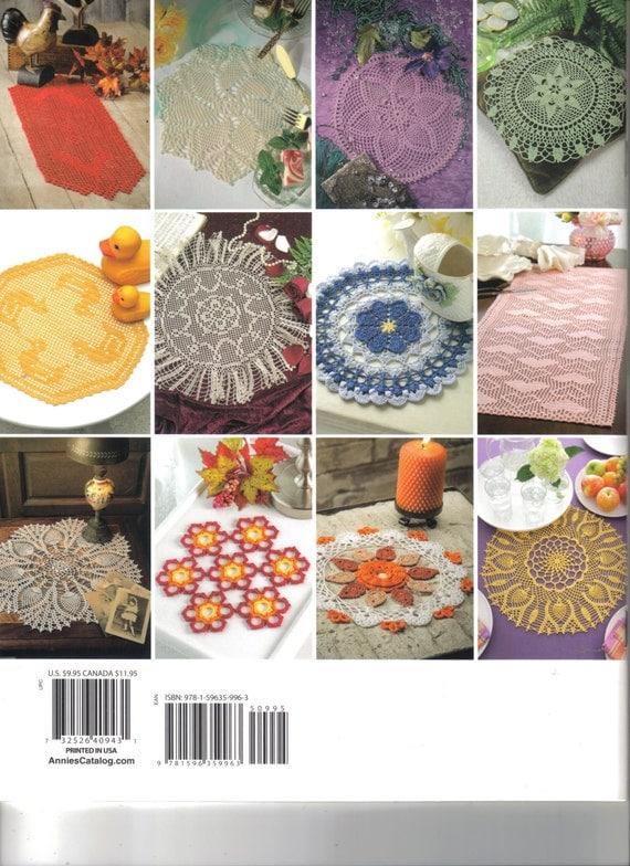 Easy Crochet Book Cover ~ A baker s dozen easy crochet doilies book soft