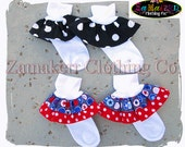 Made to Match Girls' Boutique Ruffle Socks