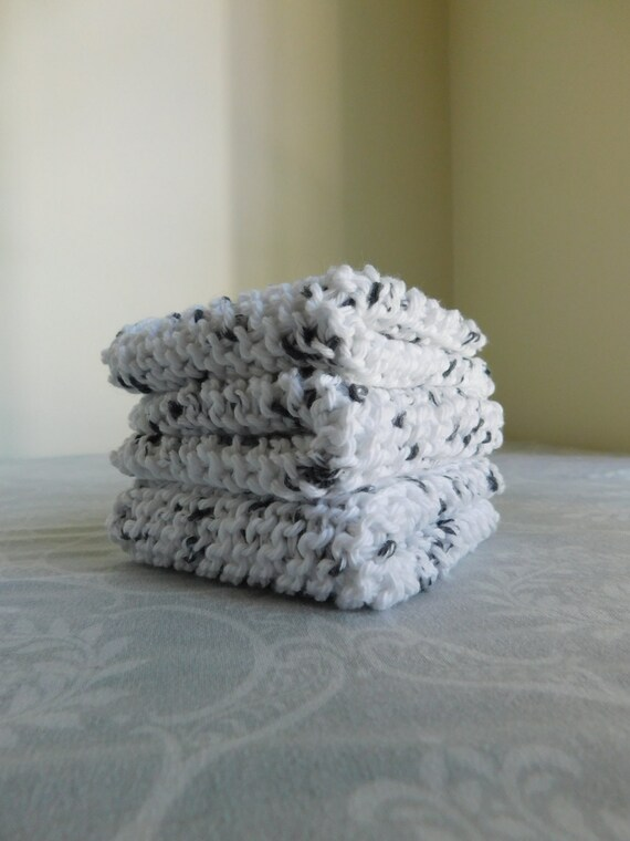 Salt and Pepper Dishcloth Trio