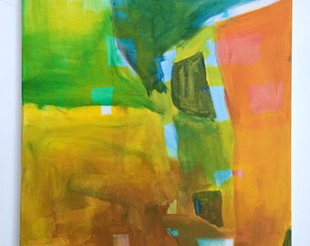 Summer Field - Original Acrylic Painting