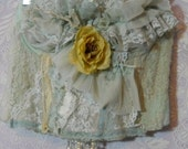 Valentines Sale Blue , seafoam , lace ,ruffles, pleated, bustier,boned, corset, vintage, inspired, cream, rose, custom handmade by vintage o