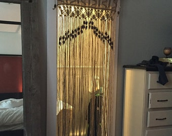 Zen Macrame Curtain Design By Craft Flaire