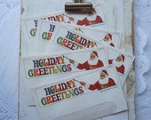 Vintage Western Union Holiday Greetings Envelopes