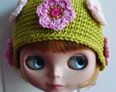 Blythe Hat Flowers All Over