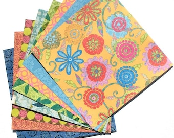 Tim Coffey Specialty Papers - 6x6 K&Company Scrapbooking Paper Pack