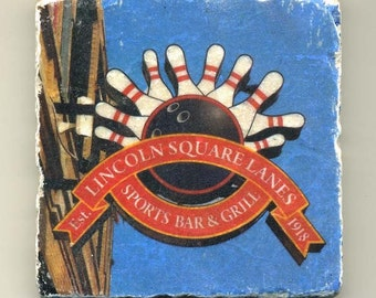 Lincoln Square Lanes - Original Coaster