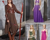 Simplicity 1010-Elf Costume Lord of the Rings  Size 6-14