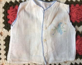 60s Baby Shirt 0-3 Months