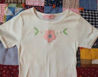 70s Daisy Shirt 5T