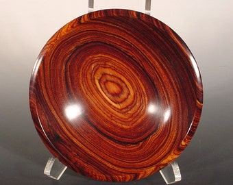 Exotic Cocobolo Rosewood Wood Bowl Wooden Bowl Art 6258