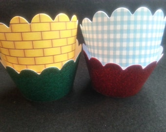Wizard of Oz Cupcake Wrappers (12)