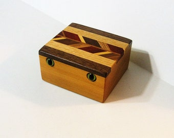 Creature Treasure Box Made Of Seven Woods