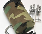 Apocalypse Later, Hand Crafted Camo Chalk Bag and Belt - Rock Climbing