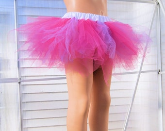Bubblegum Pink and Lavender Trashy TuTu Skirt Child Size 4-8 MTCoffinz - Ready to Ship