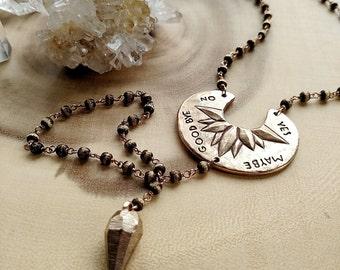 Divination Necklace | Bronze