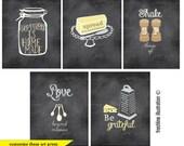 personalized art print, funny kitchen wall art, kitchen decor