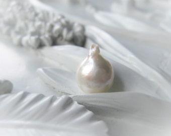 Freshwater Pearl Bead Baroque Pearl Flameball Pearl Natural White Bridal Pearl Item No.1052 8798
