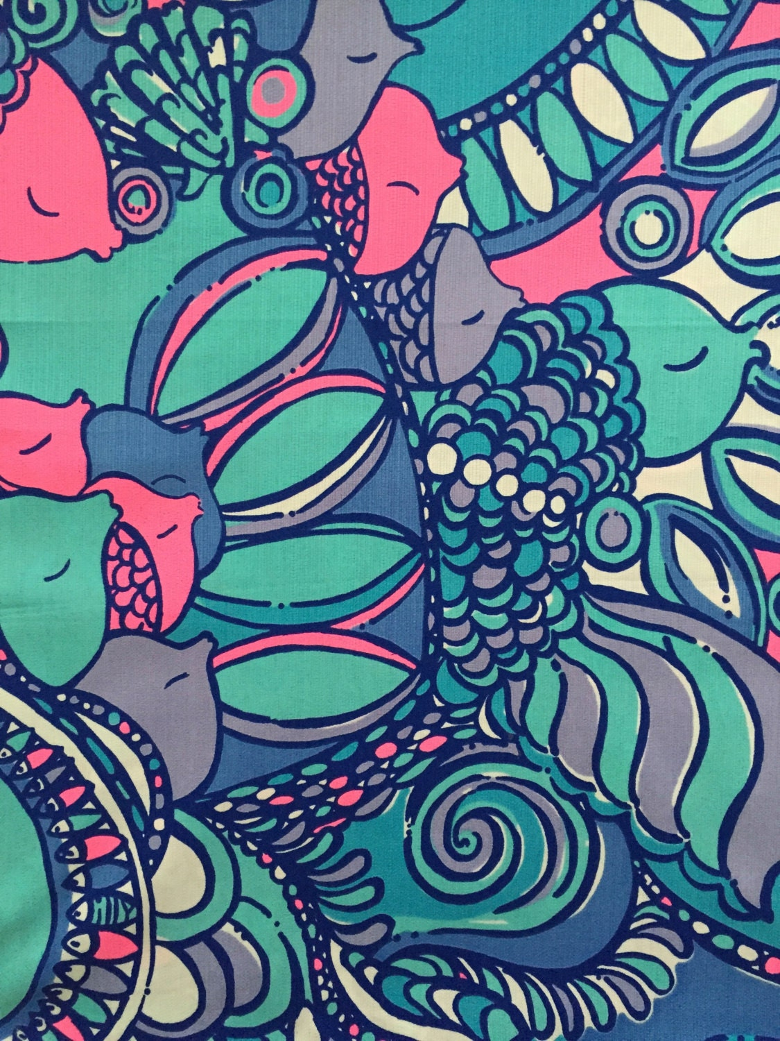 Lilly Pulitzer 39 S Multi Sea Jewels Dobby Cotton Fabric