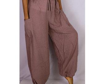 Boho Hippie  Rayon Elastic Waist Long Aladdin Summer pants (AP05)