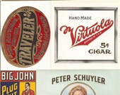 28 1930s plus TOBACCO and CIGAR LABELS