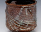 Yunomi, tea bowl 190, wheel thrown, altered cup