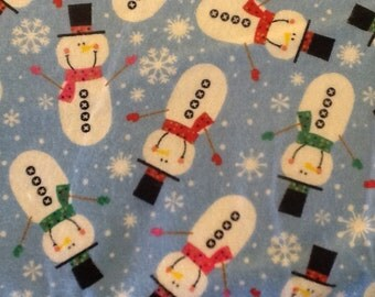Reserved for Lynette Send your own SNOWMEN pajama pants  2 adult 2 child