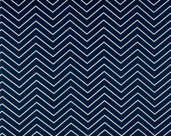 Navy Blue Clutch - Bridesmaid Clutch -  Envelope Clutch - Premier Prints- Chevron Thin Navy Blue /Bridesmaid Gift Idea / Birthday Gift