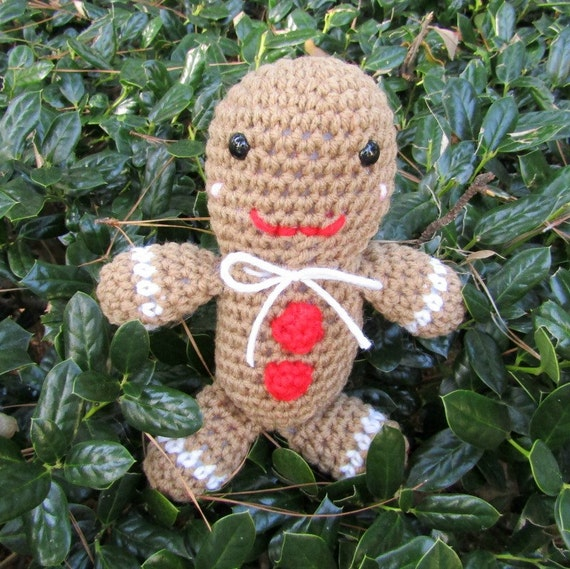 Gingerbread Cookie Doll. Plush Gingerbread Boy. Toy Christmas Cookie Doll. Gingerbread Boy/Man Plush Doll, Stocking Stuffer. Ready-to-Ship