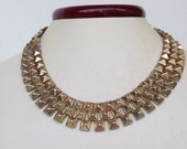 Fierce Vintage 80's Punk Rock Choker Style Necklace