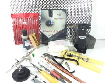 Master Designer Soldering KIT with my Soldering Setting I DVD, learn torch soldering
