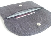 checkbook cover. magnetic snap dark grey black fabric womens coupon holder. cash envelope wallet. cute gift idea