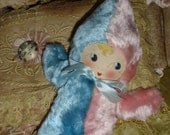 """Reserved for Stacy. Adorable Georgene Averill ? 10"""" Plush Kewpie Doll Painted Mask Face"""
