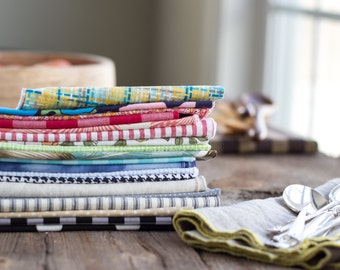 Food Photograpy Bundle, Cloth Napkins for Food Blogs, Photo Props, Table Styling, Food Photographer