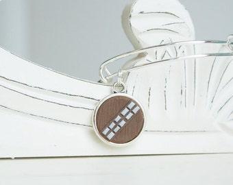 Star Wars Chewbacca Adjustable Bangle Bracelet