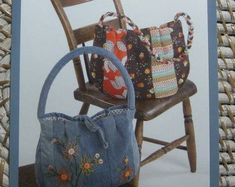 Indygo Junction IJ766 - Denim and Daisies Purse Pattern
