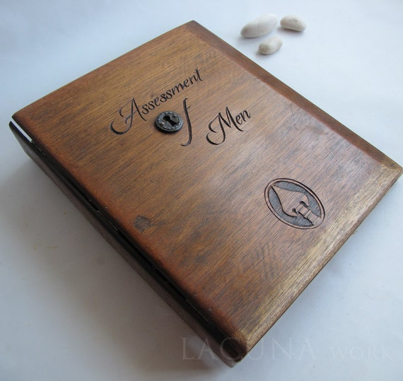 Personalized Wood Binder Reclaimed Wood Reserved For By