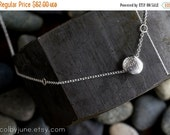 20% Off Sale Sterling Silver Necklace | Single Pebble Necklace