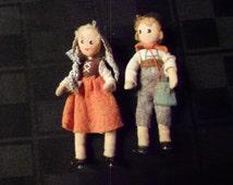 Dolls/Baps/Hansel & Gretal/Vintage/War Time