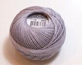 Tatting Thread, Lizbeth Cotton Crochet Thread, Silver, Color number 605, Silver Tatting Thread, Choose a Size 3, 10, 20, 40, 80